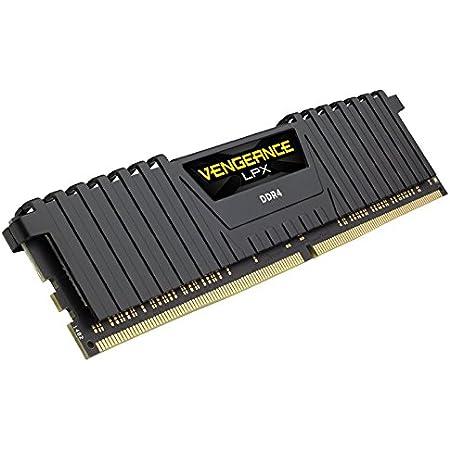 Corsair Vengeance LPX 16GB (2x8GB) DDR4 3600 (PC4-28800) C141.45V AMD Optimized Memory -Black