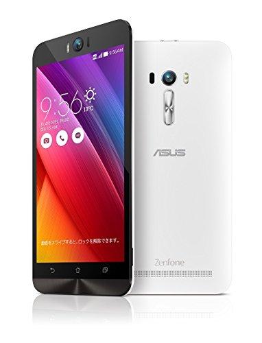 エイスース SIMフリースマートフォン ZenFone Selfieホワイト ZD551KL-WH16