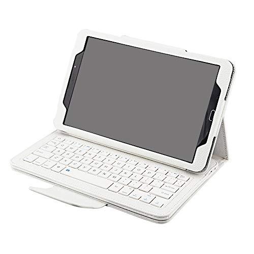 Teclado Bluetooth para Tableta BESEGAD Wireless Bluetooth Teclado de la Caja de la Caja de la Cubierta del Soporte de la Cubierta de la Piel para SG Galaxy Tab T580 T585 T 580 585 Tablet 10.1 Pulgada