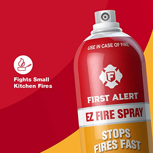 First Alert Tundra AF400 Tundra Fire Extinguishing, Aerosol Spray, 1-pack