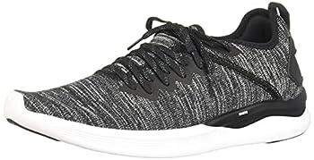 PUMA Men s Ignite Flash Evoknit Sneaker Black-Asphalt-White 10 M US