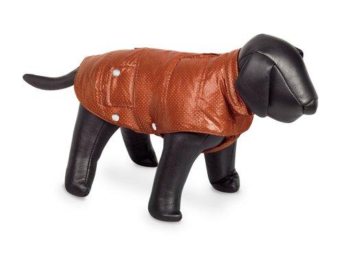 Nobby 68156 Danika - Abrigo para Perros (32 cm), Color Terra