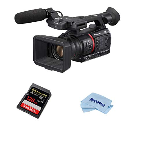 Panasonic AG-CX350 4K Camcorder - Bundle...