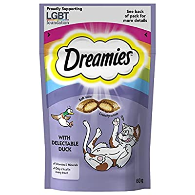 Dreamies Cat Treats with Duck, 60 g