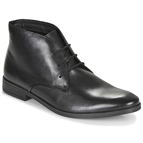 Clarks Stanford Lo Tobillo Botas/Botas Hombres Negro Mediados Botas, negro (Negro), 43.5 EU