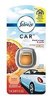 Febreze Car Air Freshener Blood Orange & Spritz フェブリーズカーエアフレッシュナーブラッドオレンジ&スプリッツベントクリップ車用芳香剤 2ml x3個 [並行輸入品]