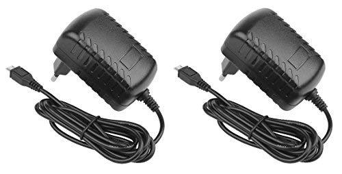 """5,1 V / 3 A Micro-USB Netzteil für Raspberry Pi 3, alle Vorgängermodelle sowie Banana Pi; erheblich reduzierter Kabel-Spannungsabfall! Kein """"buntes Quadrat"""" und Blitzsymbol mehr! 2 Doppel-Pi-Filter"""