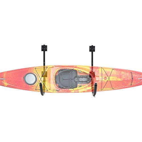 WilTec Soporte Pared Kayak Almacenaje Sujeción Pared Canoa Piragua Tablas Sup Surf Piragüismo Remo Deporte