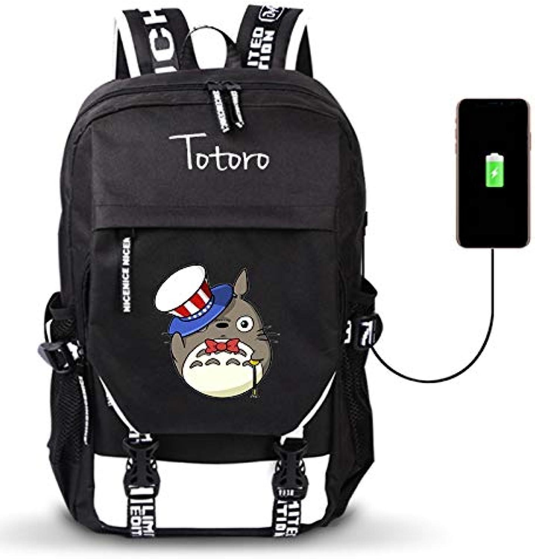 Unisex Outdoor Reiserucksack Mein Nachbar TotGold TotGold TotGold Anime Daypack Schulter Schultasche Laptop Rucksack mit USB-Ladeanschluss B07NTMGHJJ  Stabile Qualität 5774d6