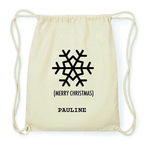 JOllify gymtas cadeau voor Pauline Kerstmis rugzak van katoen BPX5843