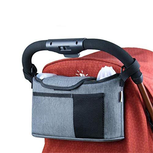 Kaned Storage Bag Infant Travel Home Changer Mat Pockets Foldable Pad,Gray