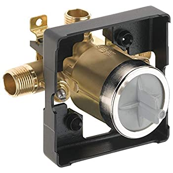 DELTA R10000-UNWSHF MultiChoice Universal Shower Valve Body for Shower Faucet Trim Kits  with Screwdriver Stops