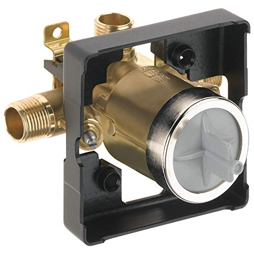 DELTA R10000-UNWSHF MultiChoice Universal Shower Valve Body for Shower Faucet Trim Kits (with Screwdriver Stops)