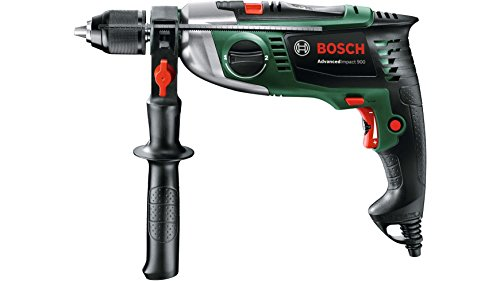 Bosch Home and Garden 0603174000 Taladro percutor, 900 W, 230 V, Negro, Verde, Gris