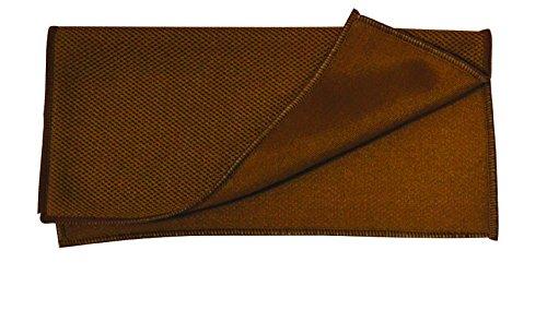 MSV 100428 Lavette Microfibre Spécial pour Voiture Polyester Marron 35 x 35 x 0,1 cm