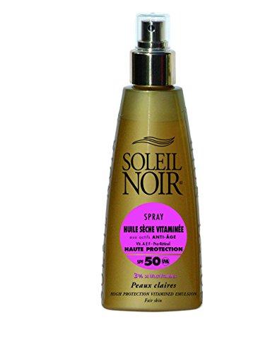 SOLEIL NOIR 64 Spray Huile Sèche Vitaminée 50 Protection Haute
