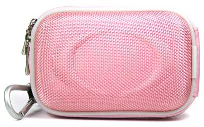 -- Pink High Quality Mini Hard-Shell Carrying Case for Kodak EasyShare M580 14MP Digital Camera Pink {+ 1pc name tag} -- Best Seller on Amazon!