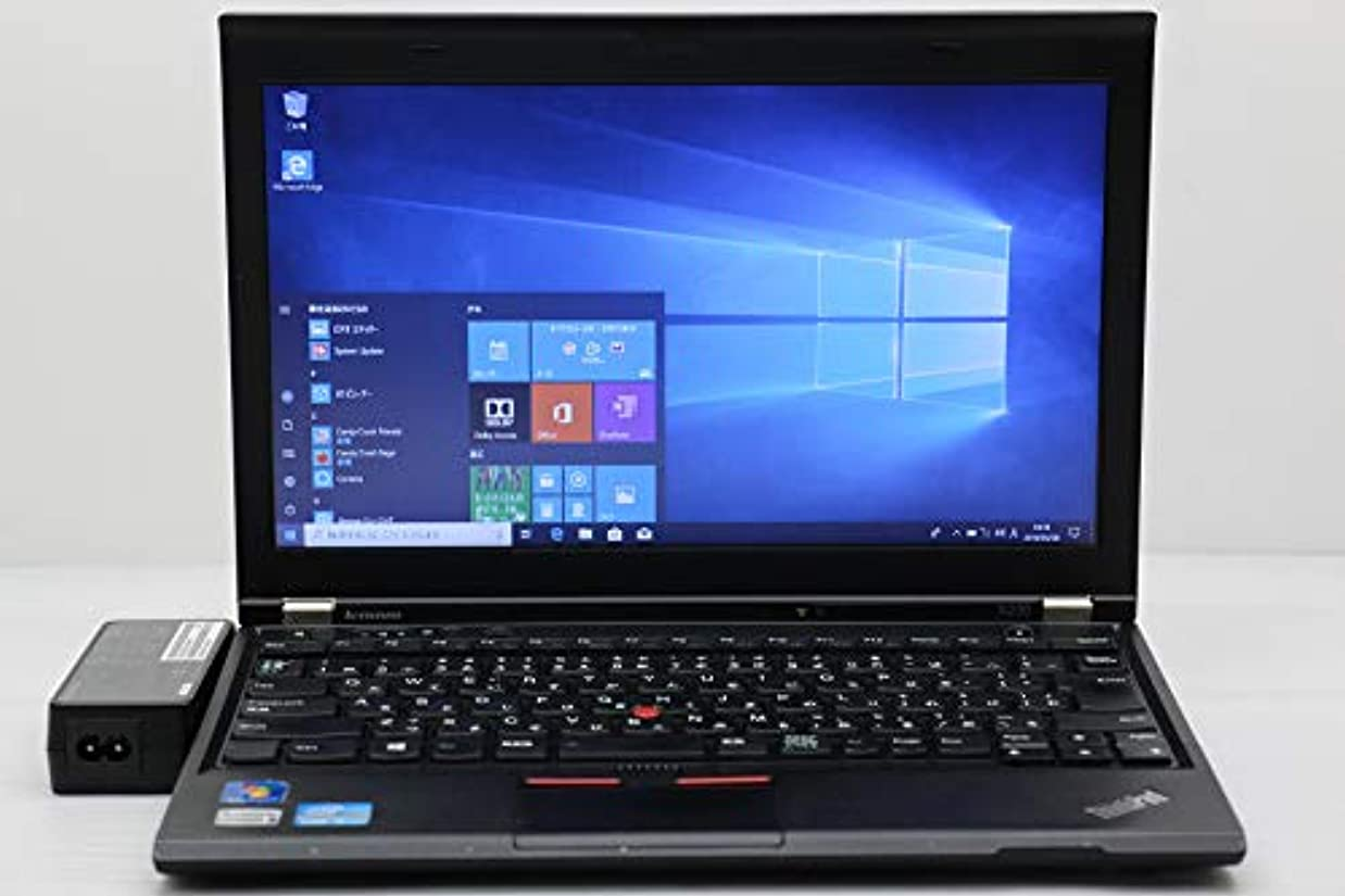 テスピアンさせる叱る【中古】 lenovo ThinkPad X230 Core i5 3360M 2.8GHz/4GB/180GB(SSD)/12.5W/FWXGA(1366x768)/Win10