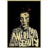 THKDSC Leinwand Poster American Beauty Film Retro Poster