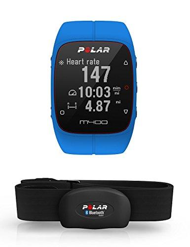 Polar M400 Cardiofrequenzimetro con GPS Integrato e Fascia Cardio Bluetooth Smart per Corsa Outdoor e Indoor