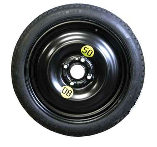 Spare Tire Space Saver 15 inch 4-Lug Mini Cooper R50 R52 R53 R55 R56 R57 R58 R59 (2002-2016) Models