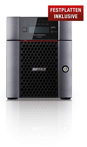 Buffalo TeraStation NAS harde schijven inclusief snapshots 4-bay desktop. 16 TB (4 x 4 TB) zwart