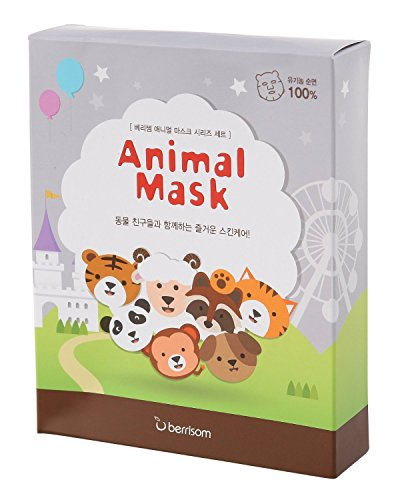 Berrisom serie máscara animal set 7pcs