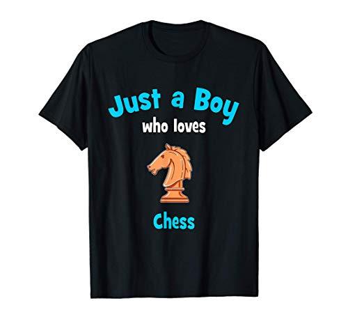 Camiseta de ajedrez para niños Camiseta