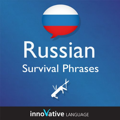 Learn Russian - Survival Phrases Russian, Volume 1: Lessons 1-30 cover art