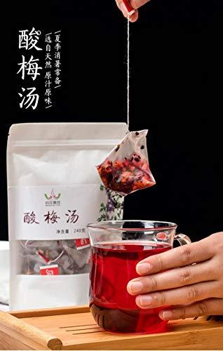 酸梅湯 酸梅汁 うめジュースティーバッグ 避暑飲料 16g×15袋 計240g