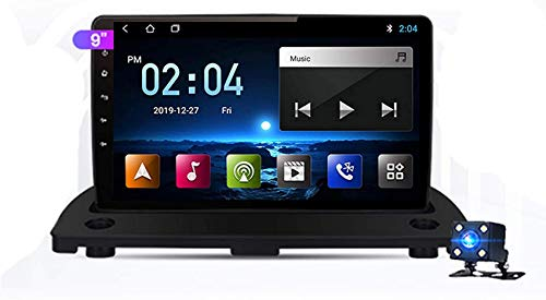 Estéreo para automóvil Doble Din Android Navegación para automóvil GPS Compatible con Volvo XC90 2004-2014 Plug and Play Enlace espejo teléfono móvil con soporte USB dual Control del volante Enlace