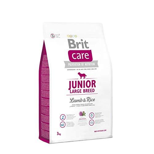BRIT Care Junior Croquette Grandes Races Agneau/Riz pour Chiot 3 kg