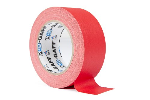ProTapes/Permacel PROGAFF4825R Industrielles Gaffer/Textil Klebeband - Rot