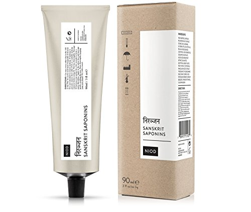 NIOD Sanskrit Saponins 90ml intense cleaning balm for the face, leaves the skin looking nearly pore-free and its surface exceptionally cleaned — as if it's radiating from within