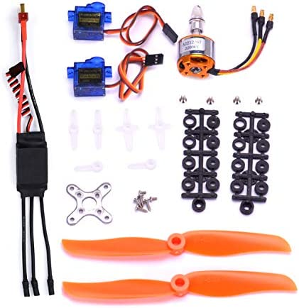 FPVKing RC 2212 2200KV Brushless Motor SG90 9G Micro Servo New 30A ESC Electric Speed Controller product image