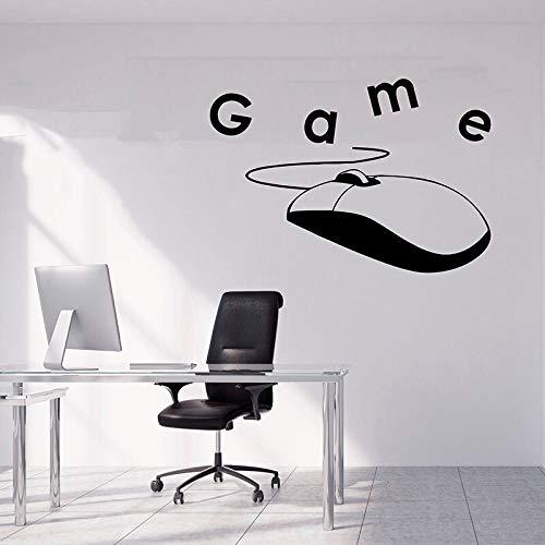 Gamer sticker PlayStation vinyl sticker videospel muur sticker spel sticker Game Boy kamer decoratie spel speler cadeau verwijderbare 46.5x43.5cm