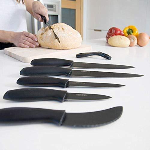 Set de 7 cuchillos Titanium de Cecotec
