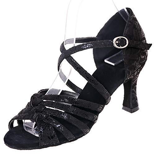 Love Shoes Zapatos De Baile Para Mujer Tacón Medio Bajo Salón De...
