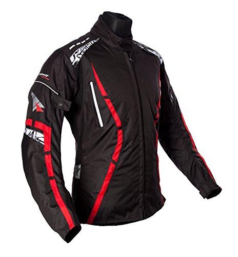 Roleff Racewear Motorradjacke Zelina, Rot, Größe XS
