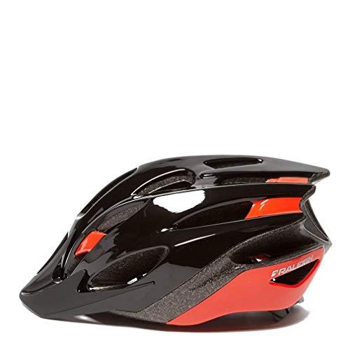 Raleigh Mission Evo Bike Helmet, Red, 54-58cm