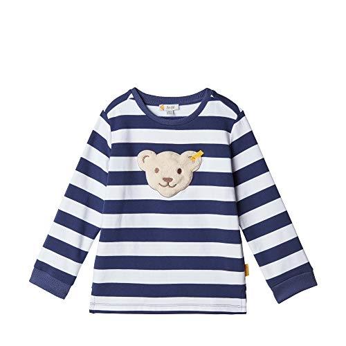 Steiff Baby - Jungen Sweatshirt , PATRIOT BLUE 6033 , 80  (Herstellergröße:80)