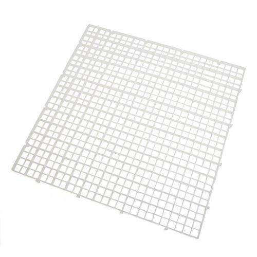 Sourcingmap® 4Stk Aquarium Tank klarer Plastik Quadrat Trennung Brett Isolierung 11,8