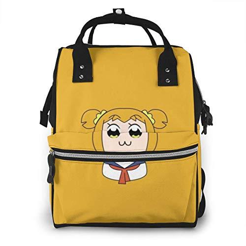 JUKIL Mochila de pañales Pop Team Epic Diaper Bag Backpack