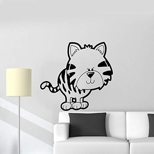BailongXiao Kitty Jouet pour Animaux de Compagnie Stickers muraux Enfants Stickers Autocollants Dessin animé Mignon Enfants Chambre décoration Amovible Stickers muraux Salon
