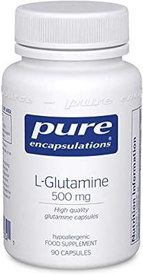 Pure Encapsulations - L-Glutamine 850mg - Professional Strength Glutamine Capsules - 250 Capsules
