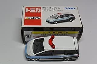 Japan Import Tomica Apita original Toyota Estima hybrid patrol car