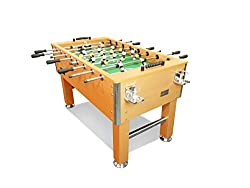 top rated T  R Sport 5FT Heavy Duty Foods Ball Table, Pub Playroom with Cup Holder, Oak USA 2021