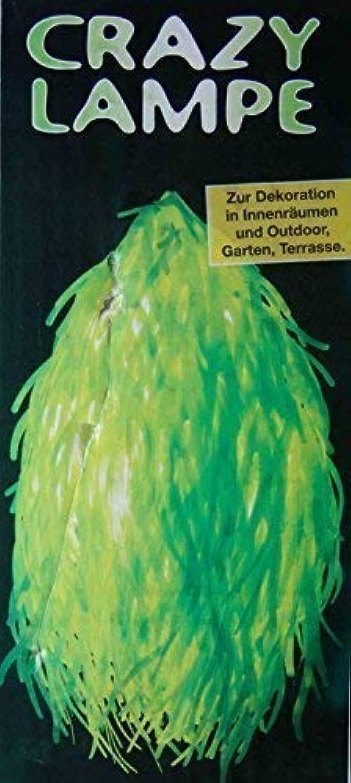 Deko Lampe CRAZY  hellgrün, H  ca. 50cm