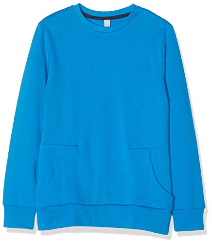 ESPRIT KIDS Jungen RP1502608 Sweatshirt, Blau (Sparrow Blue 436), 152 (Herstellergröße: M)