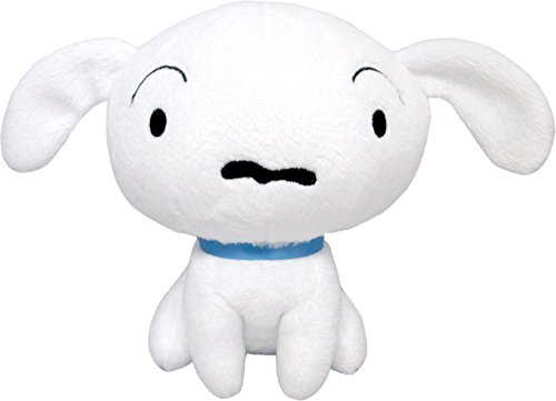 Crayon Shin-chan Shiro (S) stuffed toy height 14cm by Sanei
